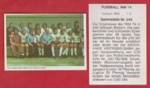West Germany Squad Beckenbauer 248